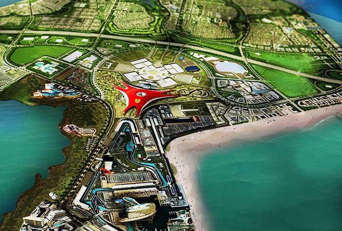 Yas Island Residential Community In Abu Dhabi