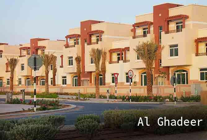 Al Ghadeer Village | Residential Community in Abu Dhabi